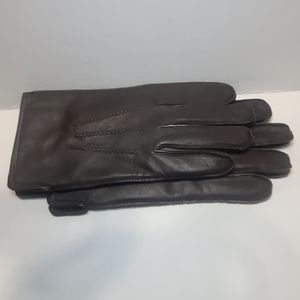 Brooks brothers lined leather gloves